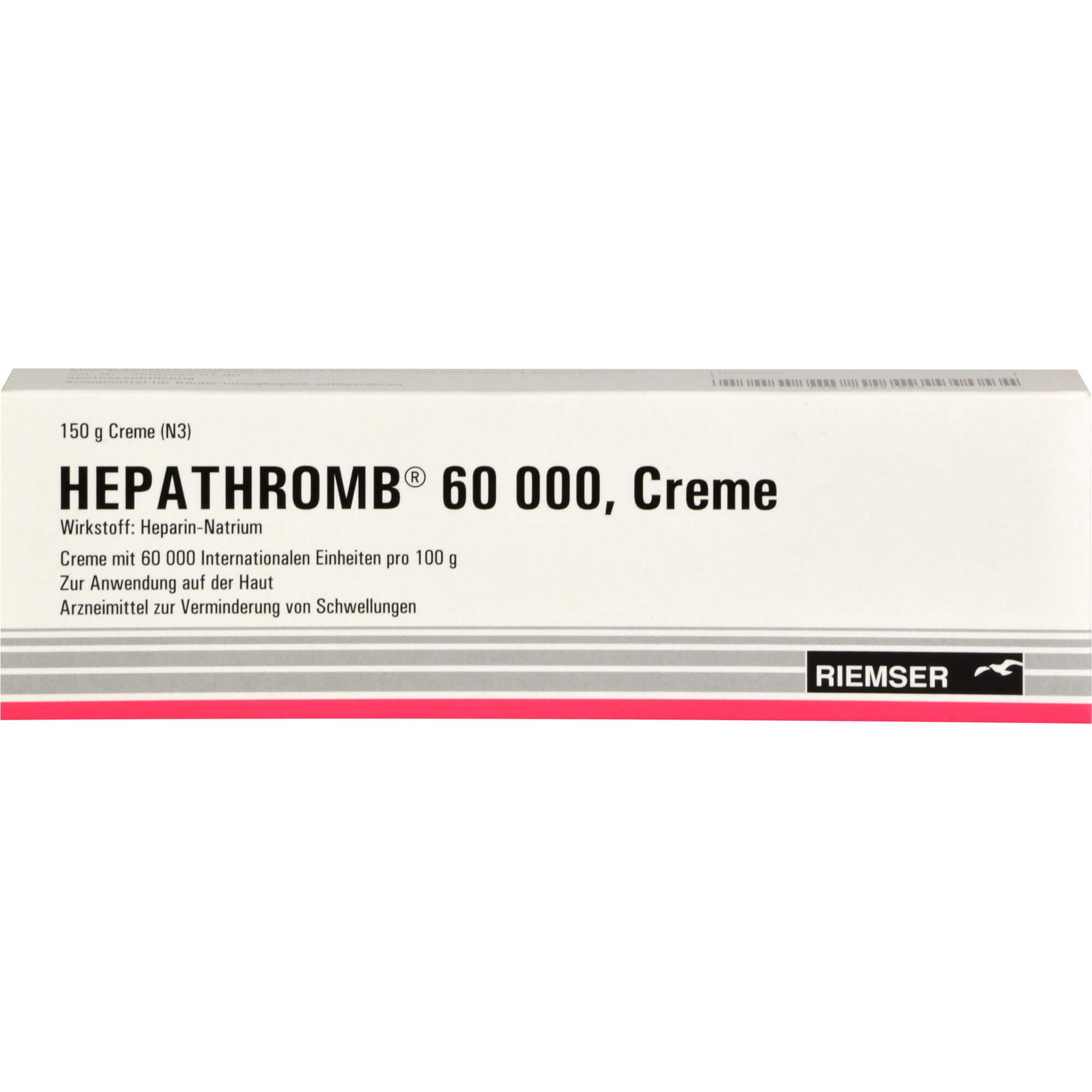 HEPATHROMB Creme 60.000