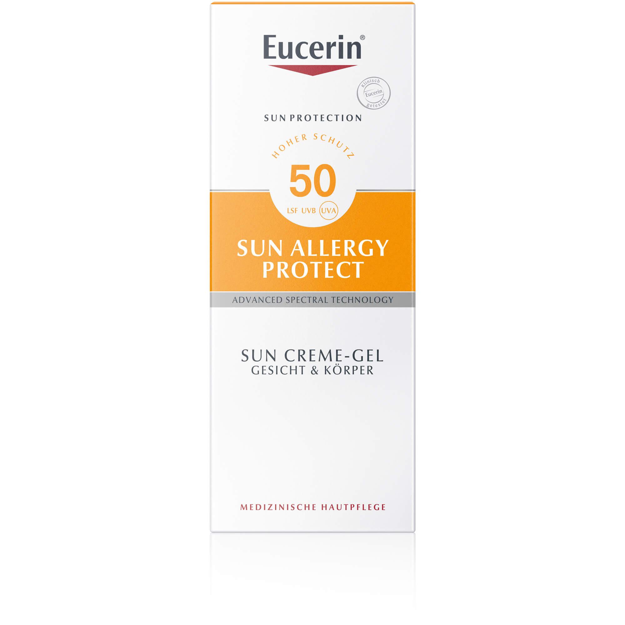 EUCERIN Sun Allergie Gel 50+