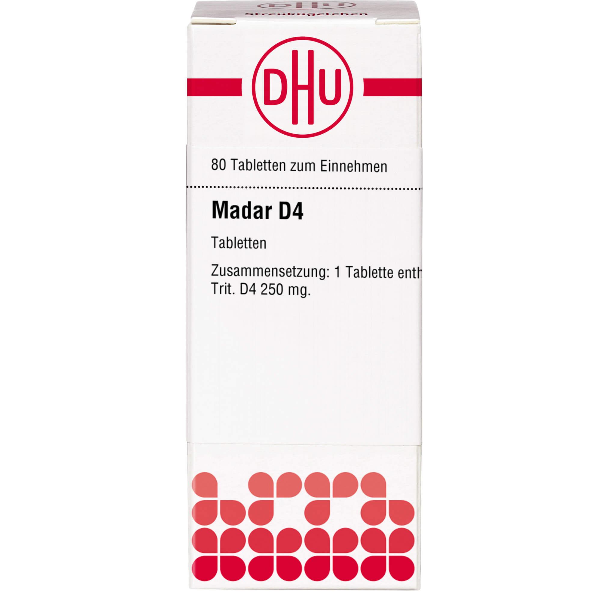 MADAR D 4 Tabletten