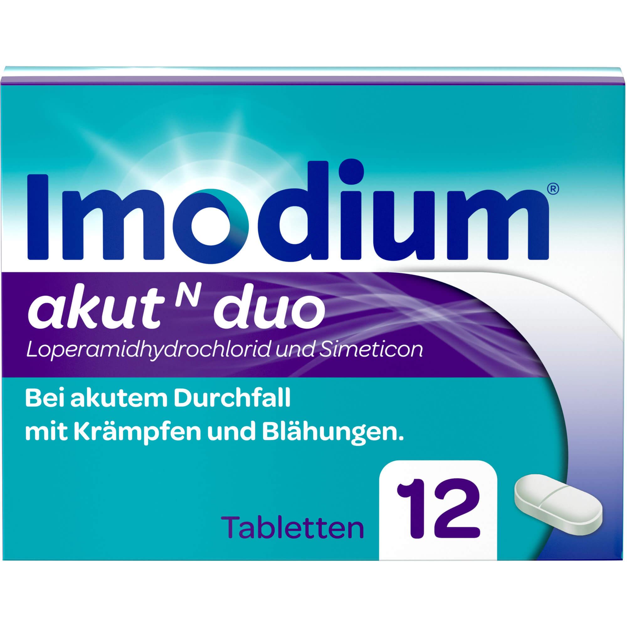 IMODIUM akut N duo Tabletten