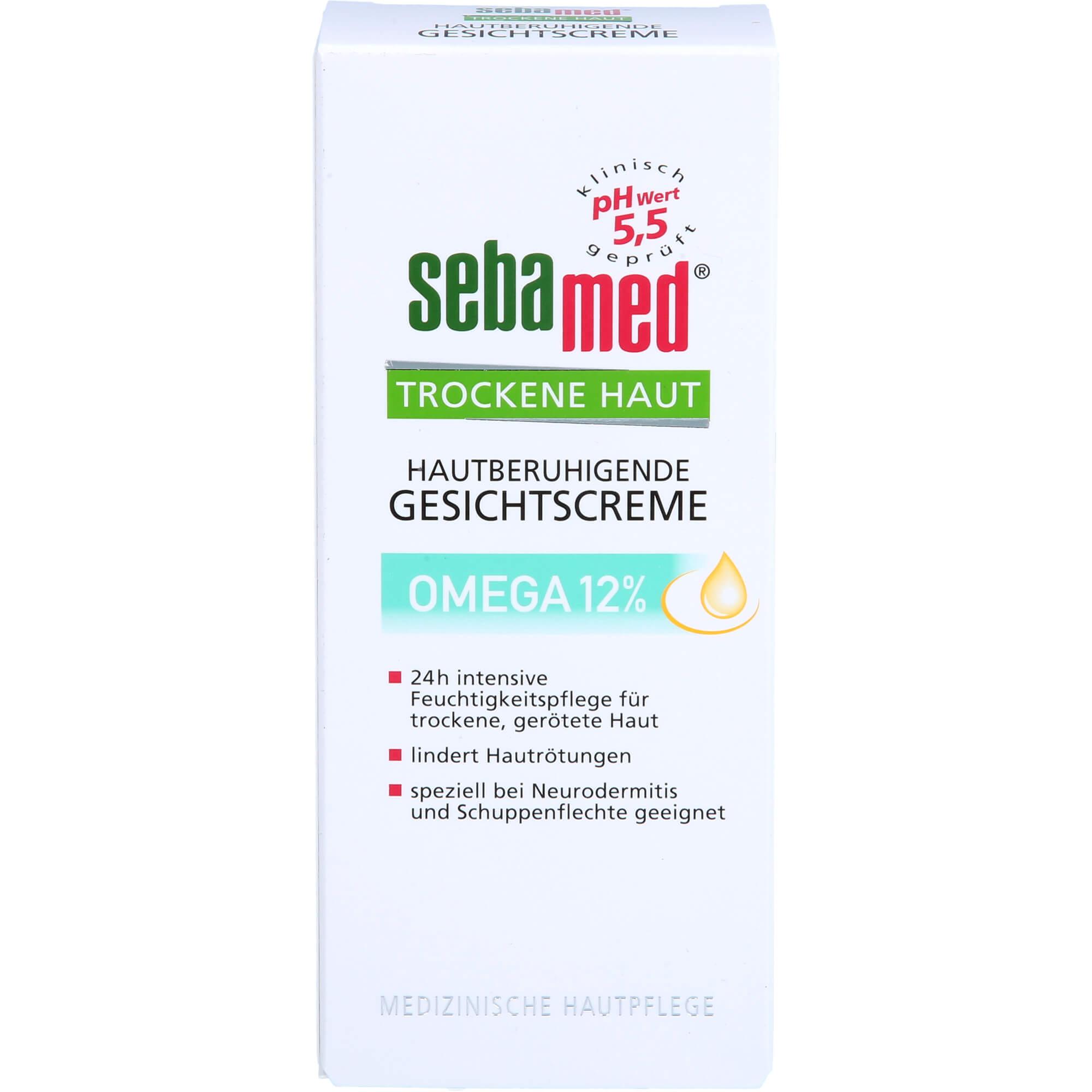 SEBAMED Trockene Haut Omega 12% Gesichtscreme