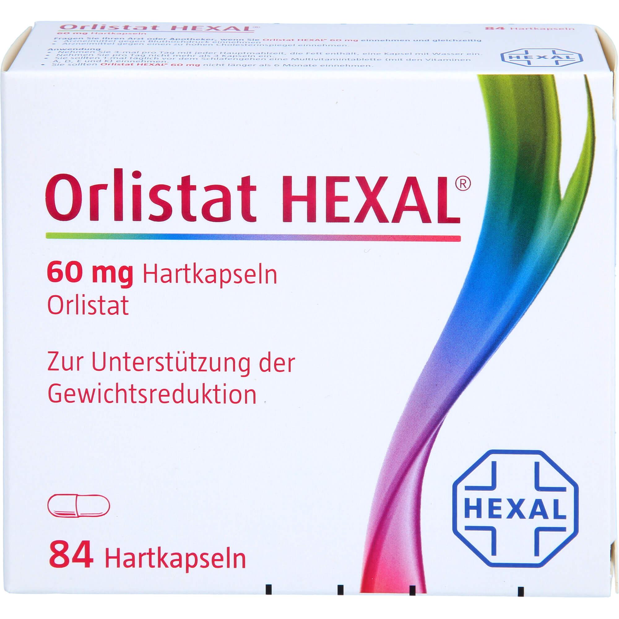 ORLISTAT HEXAL 60 mg Hartkapseln