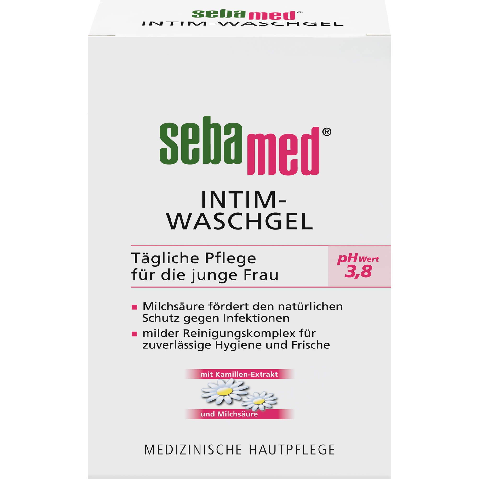 SEBAMED Intim Waschgel pH 3,8 für die junge Frau