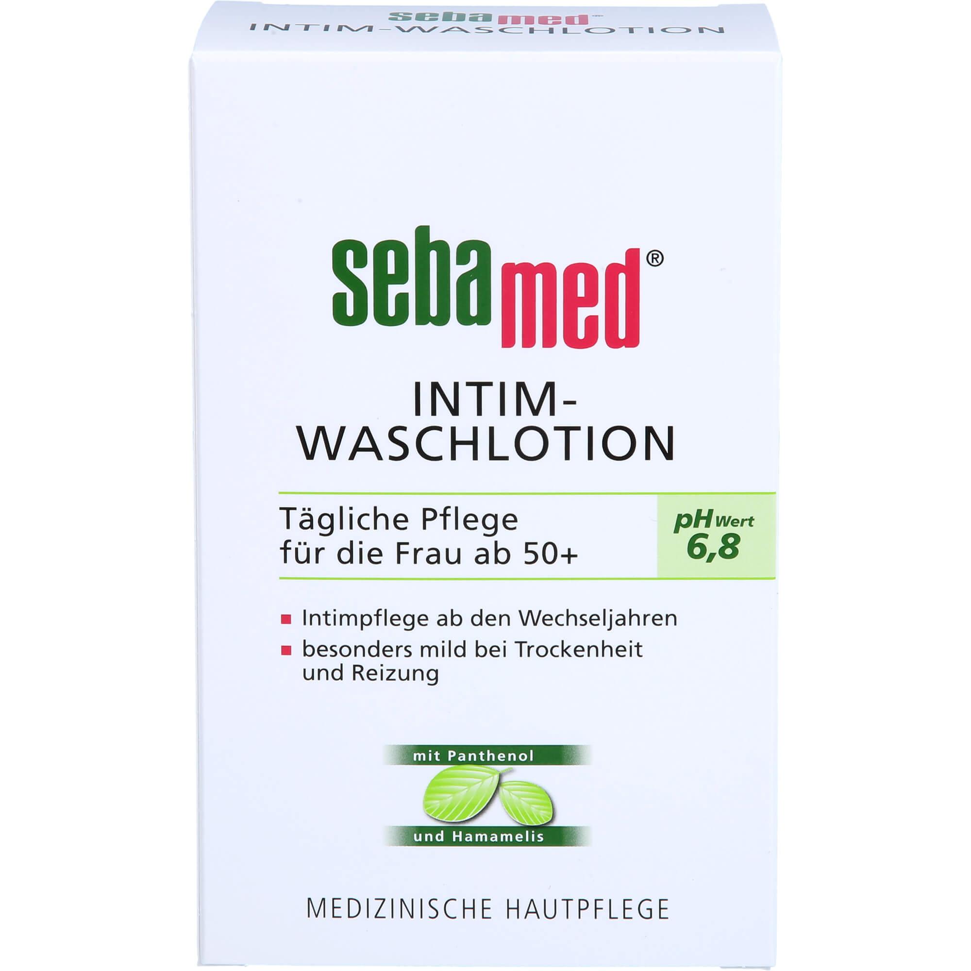 SEBAMED Intim Waschlotion pH 6,8 für d.Frau ab 50