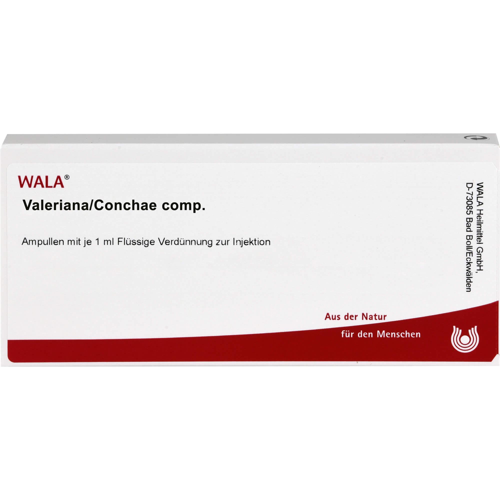 VALERIANA/CONCHAE comp.Ampullen