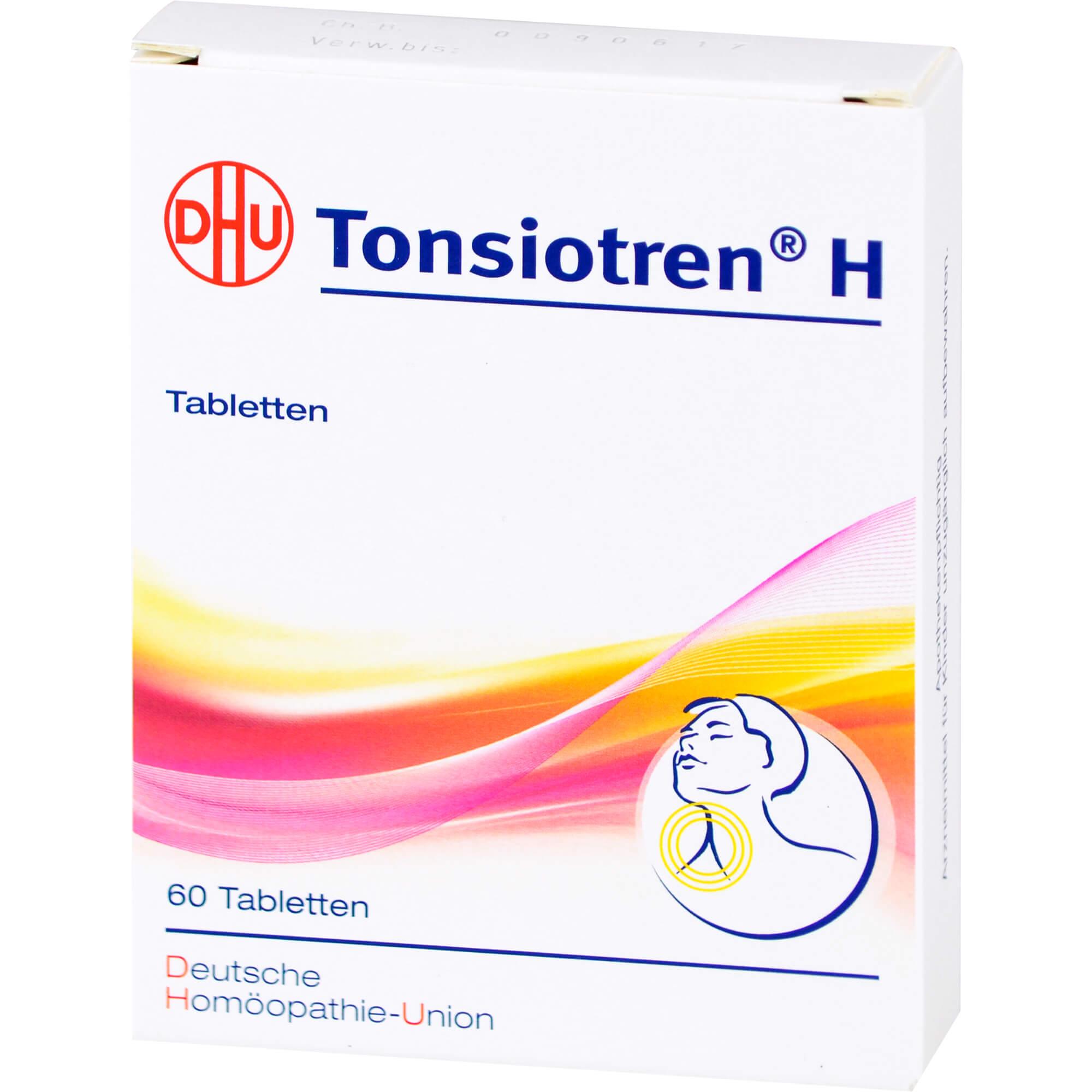 TONSIOTREN H Tabletten