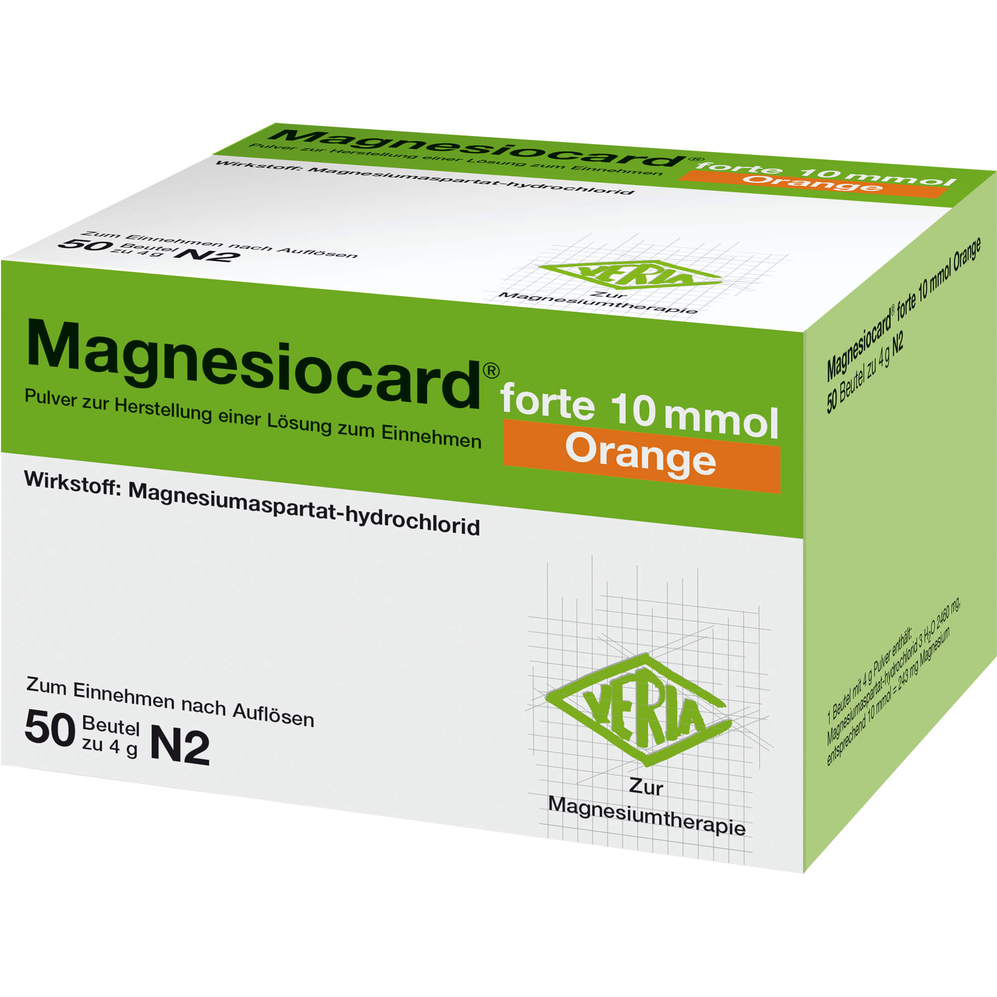 MAGNESIOCARD forte 10 mmol Orange Plv.z.H.e.L.z.E.