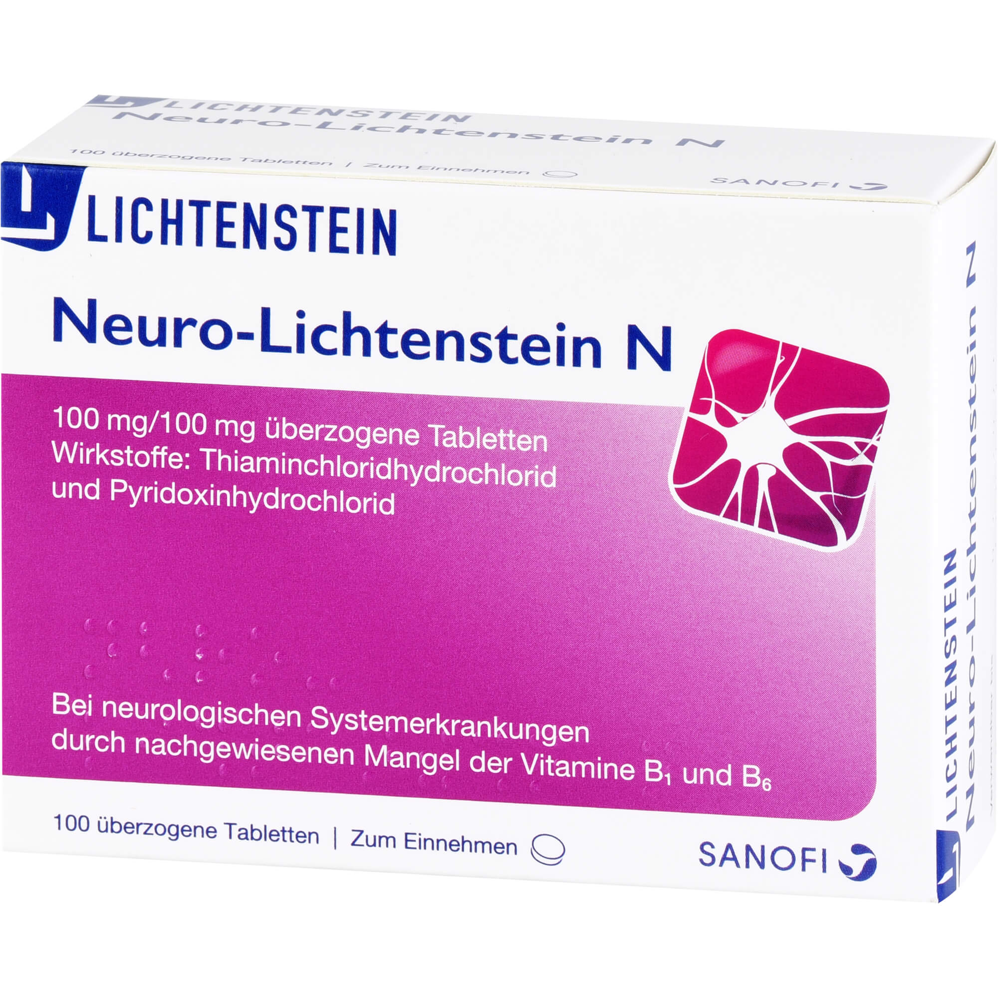 NEURO LICHTENSTEIN N Dragees