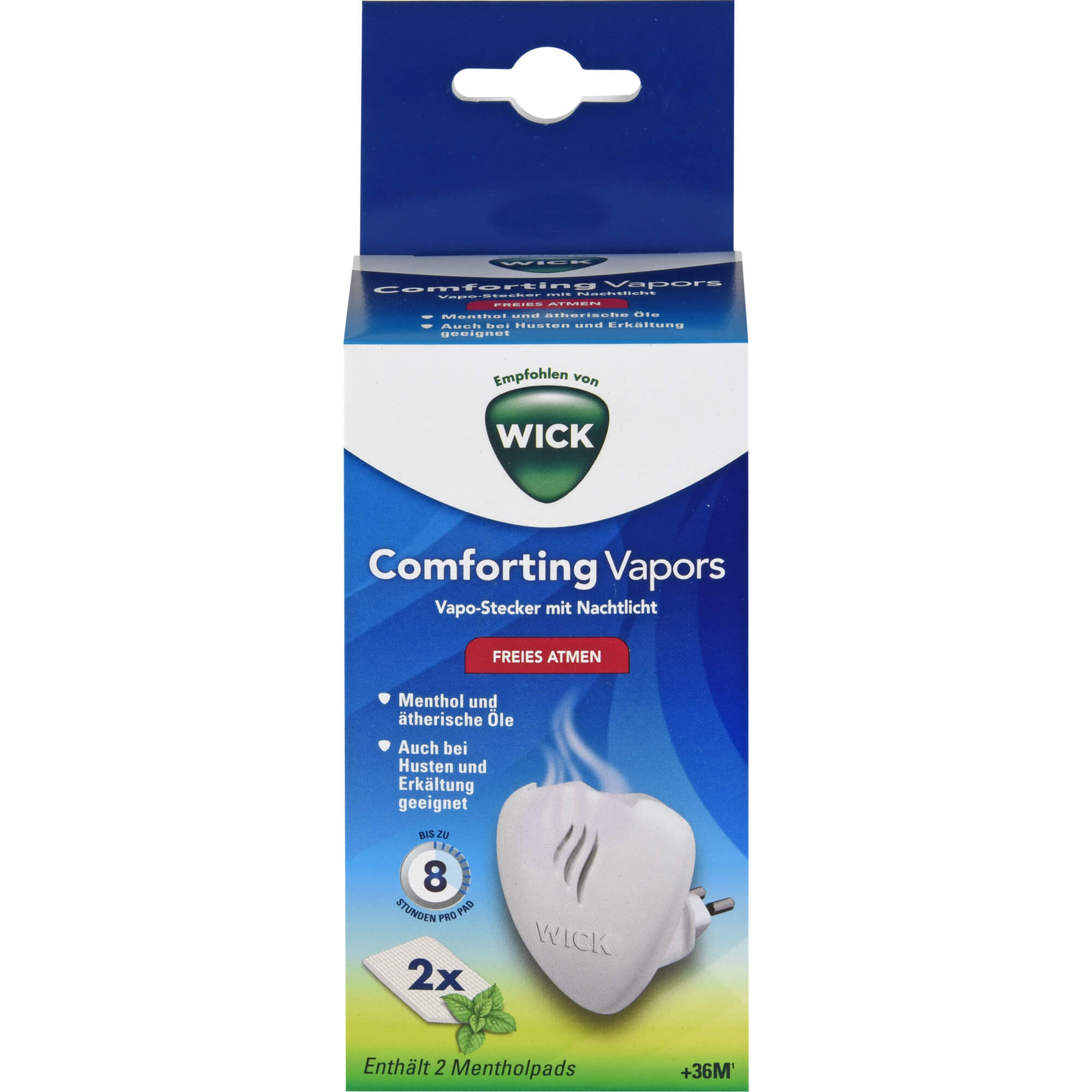 WICK Comfort.Vapors Vapo Stecker ink.5 Duftpad