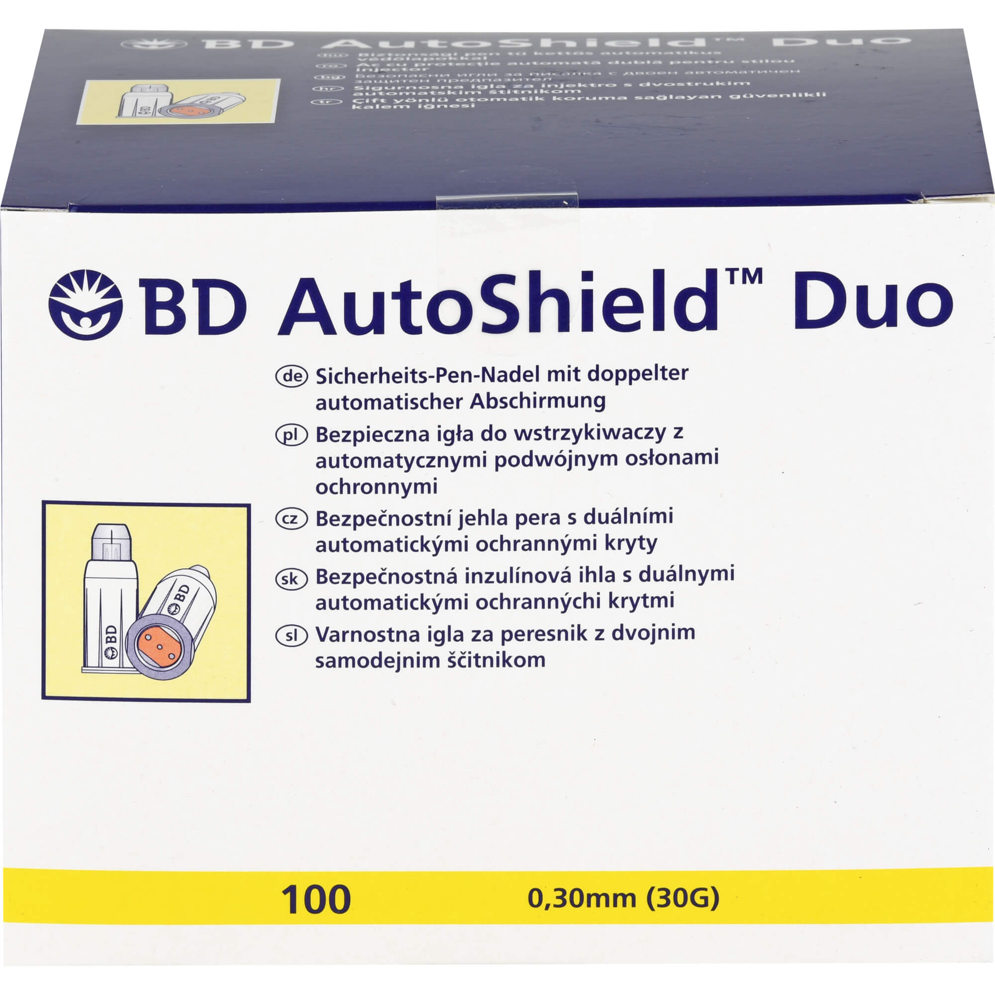 BD AUTOSHIELD Duo Sicherheits-Pen-Nadeln 5 mm