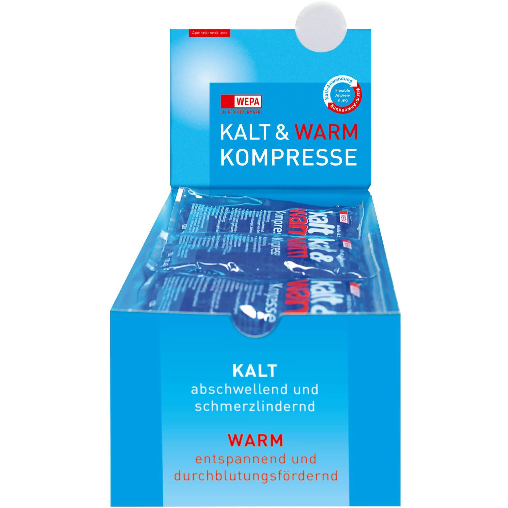KALT-WARM Kompresse 8,5x14,5 cm