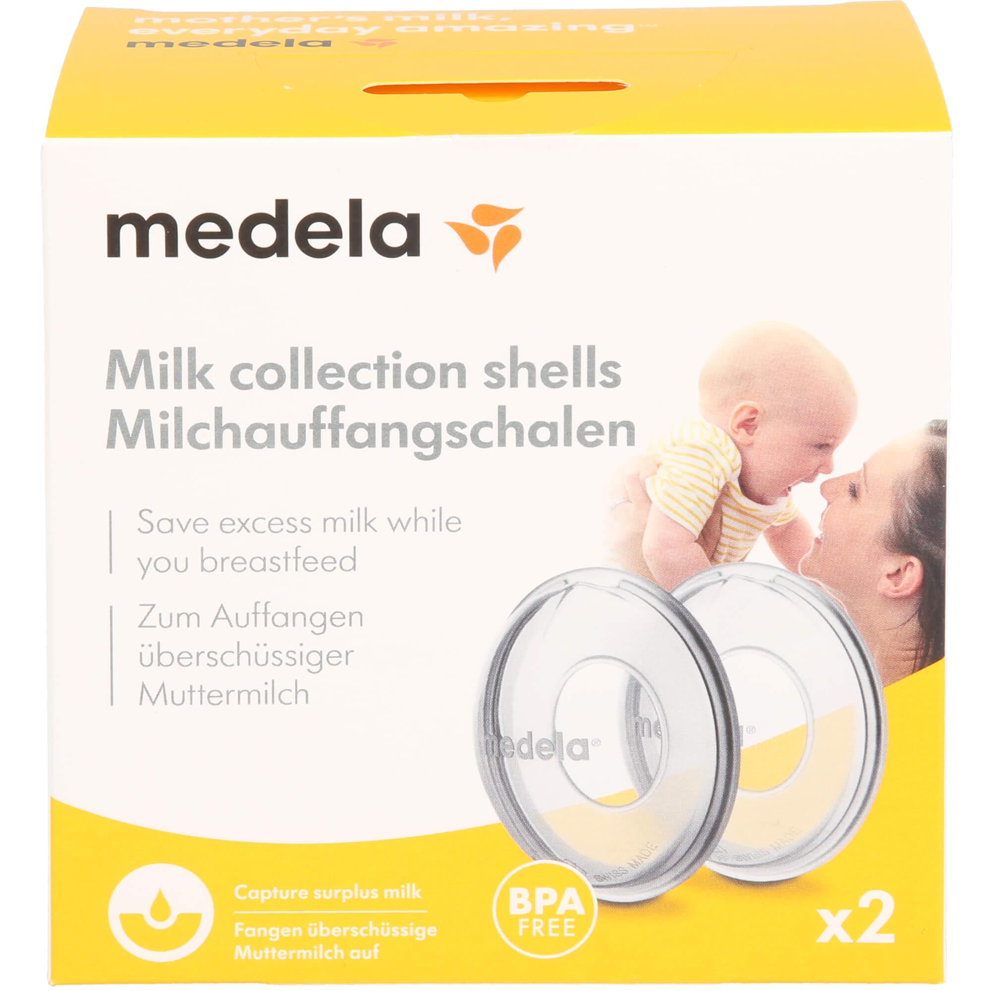 MEDELA Milchauffangschalen