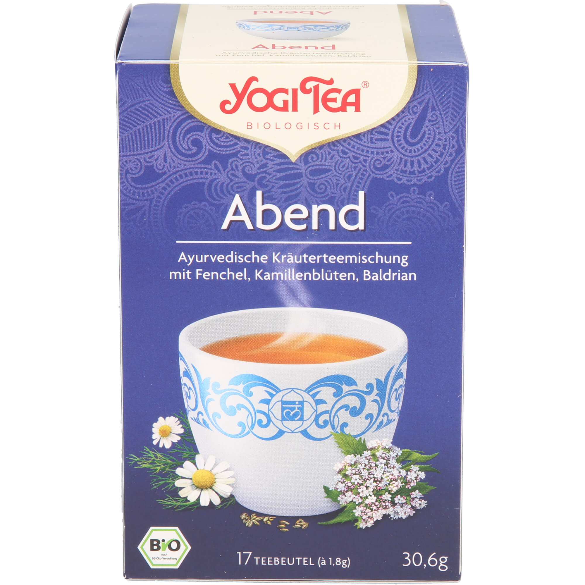 YOGI TEA Abend Tee Bio Filterbeutel