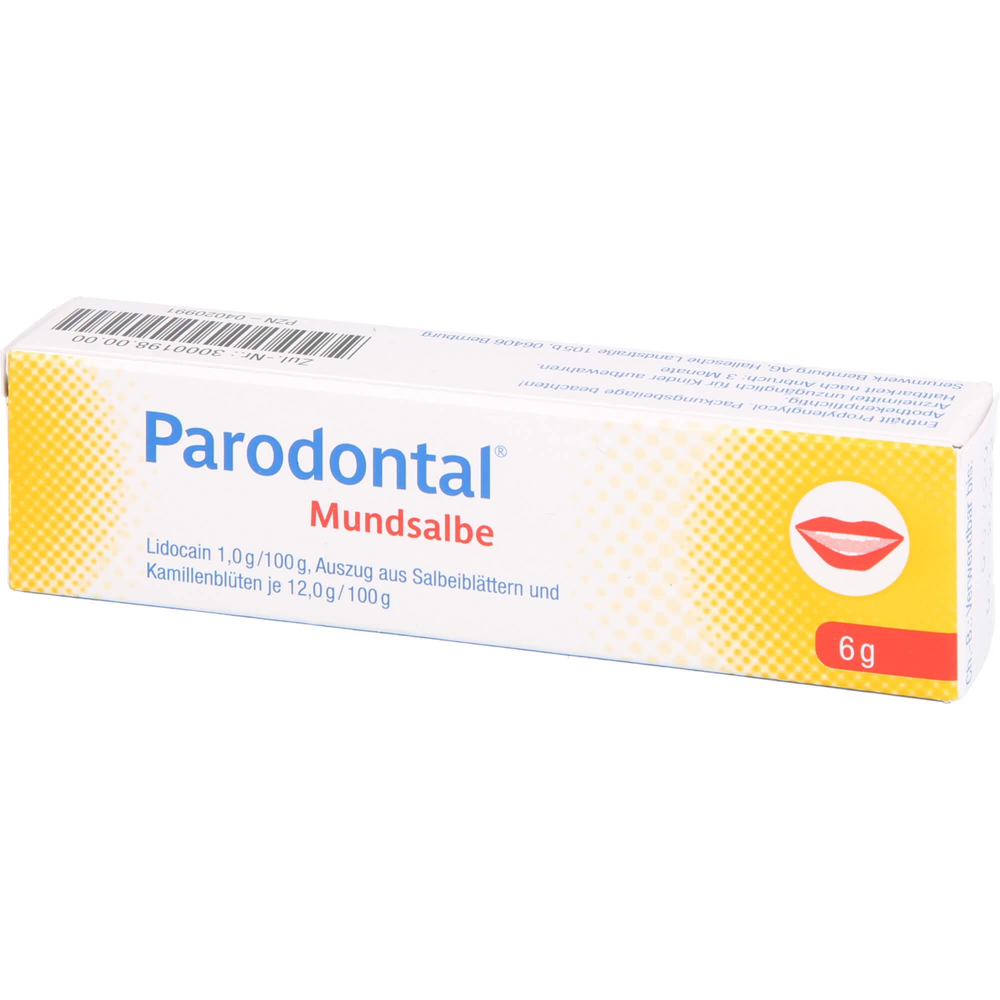 PARODONTAL Mundsalbe