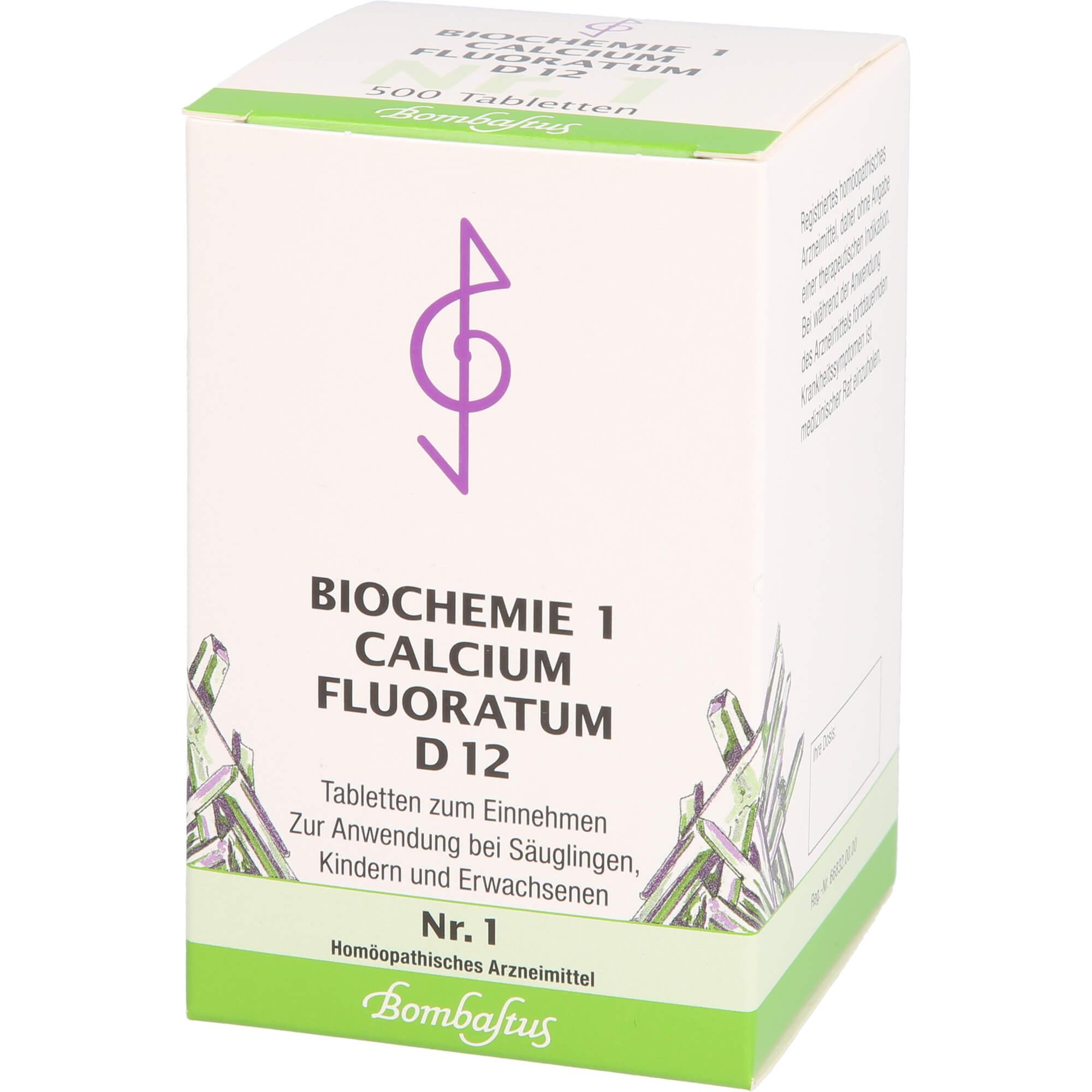 BIOCHEMIE 1 Calcium fluoratum D 12 Tabletten