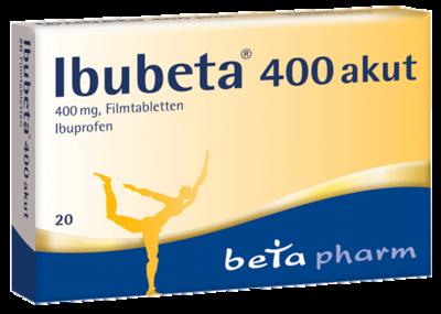 IBUBETA 400 akut Filmtabletten 20 St