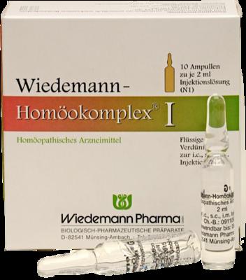 Wiedemann Pharma GmbH WIEDEMANN Homöokomplex I Ampullen 10X2 ml 00507259
