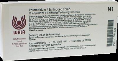 PARAMETRIUM/ECHINACEA comp. Ampullen 10X1 ml