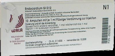 ENDOCARDIUM GL D 12 Ampullen 10X1 ml