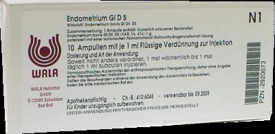 ENDOMETRIUM GL D 5 Ampullen 10X1 ml