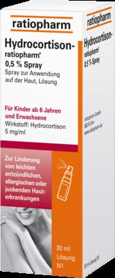 HYDROCORTISON-ratiopharm 0,5% Spray 30 ml