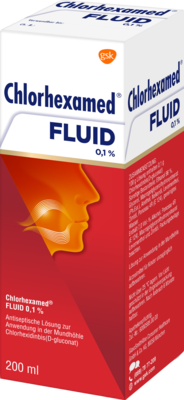 CHLORHEXAMED Fluid 200 ml