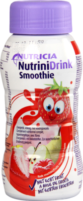 NUTRINIDRINK Smoothie rote FrĂĽchte 200 ml
