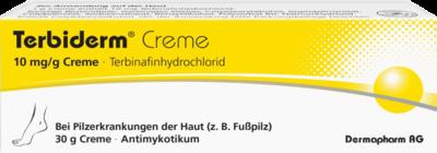 Dermapharm TERBIDERM 10 mg/g Creme 30 g