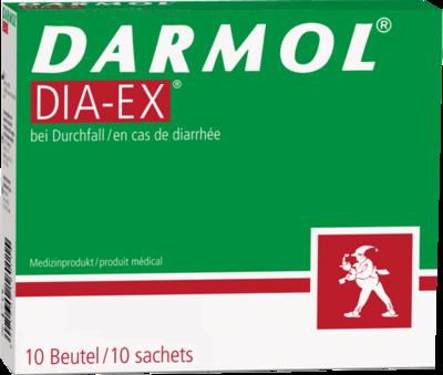 Queisser DARMOL DIA-EX Pulver z.Herstell.e.Susp.z.Einn. 10 St