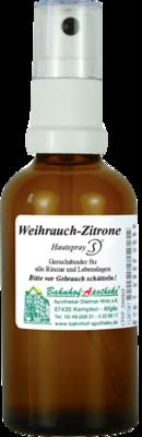 WEIHRAUCH ZITRONE Hautspray 50 ml
