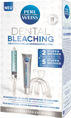 PERLWEISS Dental Bleaching 7,5 ml+10 ml Gel 1 P
